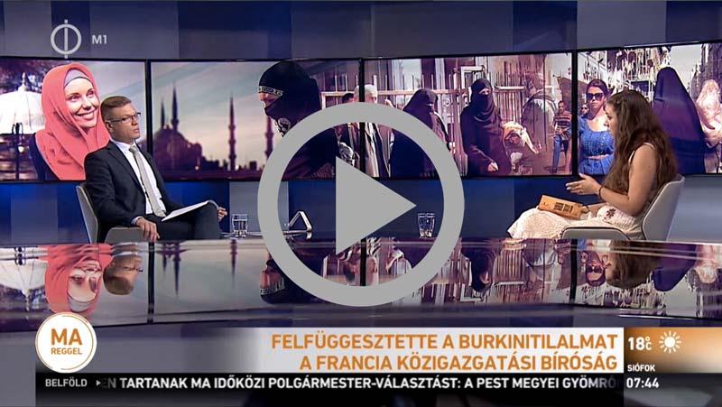 Burkini visselet újra használható a muszlimok körében - A videó megtekintéséhez kattints a linkre